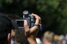 Free Videographer At Work Stock Images - 779244