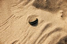 Free Sand Background With Cap 4 Royalty Free Stock Photo - 779395