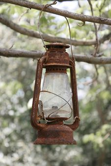 Free Rusty Lantern Stock Photography - 779472
