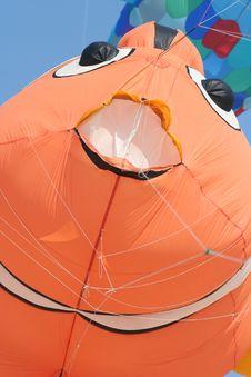 Clownfish Kite Stock Photo