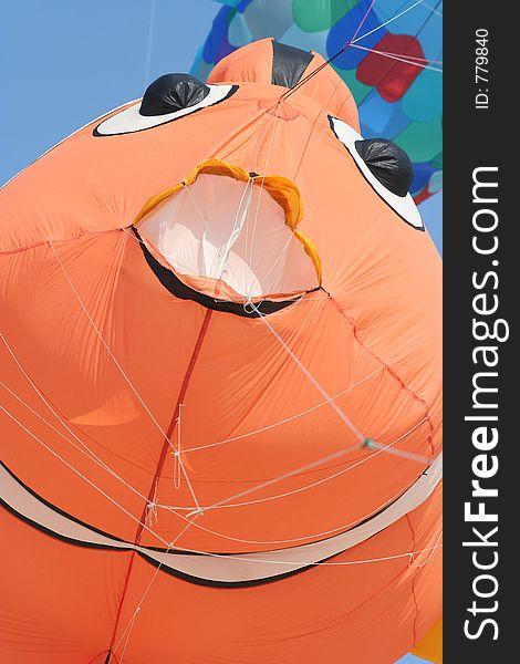 Clownfish kite