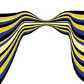 Free Background With Blue And Yellow Lines Royalty Free Stock Photos - 7700408