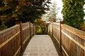 Free Botanical Garden Bridge In Autumn Royalty Free Stock Image - 7707016