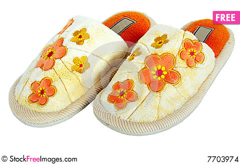 Free Soft Slippers Stock Images - 7703974
