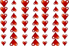 Free Heart Background Stock Images - 7700724