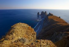 Sunset On Cape Of Four Rocks-4 Stock Images