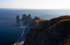 Sunset On Cape Of Four Rocks-5 Stock Photo