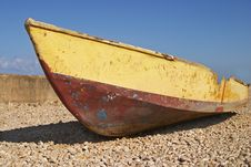 Free Battered Boat Stock Photography - 7701712
