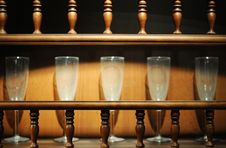Free Glass Cups In Closet Royalty Free Stock Photography - 7702217