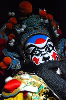 Free Peking Opera Puppet Royalty Free Stock Photo - 7702235