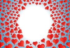 Free Millions Of Hearts Stock Image - 7702391