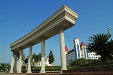 Free Century Square In Foshan China Stock Photography - 7702592