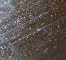 Free Scratched Glass With Water Drops Royalty Free Stock Photos - 7702658