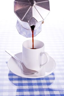 Free Pouring Espresso Stock Image - 7702811