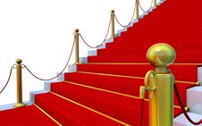 Free Stairway To Success Stock Photo - 7702820