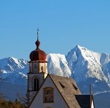 Free Alpine Church Royalty Free Stock Images - 7702959