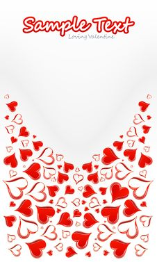 Free Red Love Card Stock Photo - 7703180