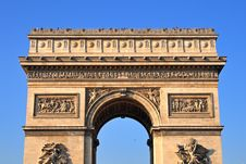 Free Arc De Triomphe Stock Photography - 7703212