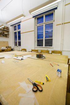 Free Empty Classroom Royalty Free Stock Photos - 7703728