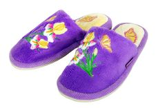 Free Soft Slippers Stock Image - 7704011