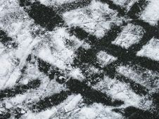 Free Marks On The Ice Stock Photos - 7704033