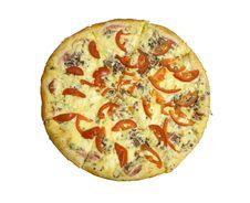 Free Whole Pizza Royalty Free Stock Photo - 7704095