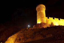 Free Night View Of Ancient Stronghold Stock Photos - 7704523