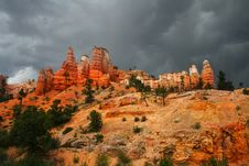Free Bryce Canyon National Park Royalty Free Stock Image - 7704576