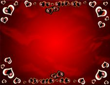 Free Red Hearts Royalty Free Stock Photo - 7704755