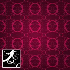 Free Repetitive Wallpaper Texture Stock Image - 7704761