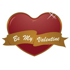 Free Be My Valentine Royalty Free Stock Photography - 7704777