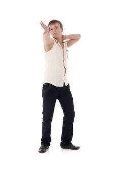 Free Modern Dancing Man Stock Photo - 7704820