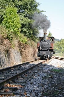 Free Old Locomotive Royalty Free Stock Photo - 7704965