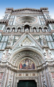Free Cathedral In Florence Royalty Free Stock Photos - 7705438