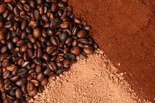 Detail Of Coffee Stock Photo