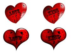Free Red Heart Stock Image - 7705761