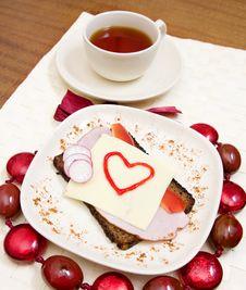 Free Valentines Breakfast Stock Photo - 7705940