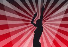 Free Girl Dancing Royalty Free Stock Image - 7706916