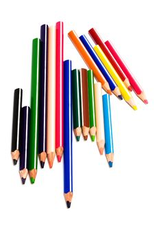 Free Color Pencils Stock Photography - 7706942