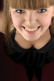 Free Cute Blond Girl Royalty Free Stock Images - 7706979