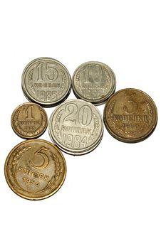 Free Soviet Coins Stock Image - 7707131