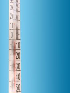 Free The Thermometer Royalty Free Stock Photography - 7707147