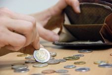 Free Coins Stock Photography - 7707242