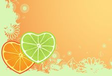 Free Citron Love Royalty Free Stock Image - 7707706