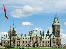 Free West Side Block Parliament Building Royalty Free Stock Images - 7707979