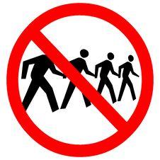 Free No Trespassing Sign Royalty Free Stock Image - 7708096