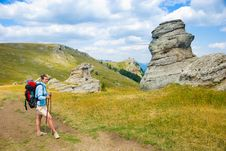 Free Happy Hiker Stock Images - 7708214
