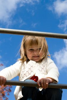 Free On The Playground Stock Photography - 7708292