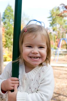 Free On The Playground Royalty Free Stock Photo - 7708315