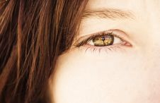 Free Woman Eye Royalty Free Stock Image - 7708546